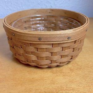 Longaberger  Small Round Mini Splint Basket